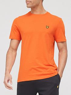 lyle-scott-fitness-back-print-t-shirt-burnt-sienna