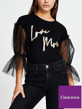 river-island-ri-petite-love-more-mesh-sleeve-tee-black