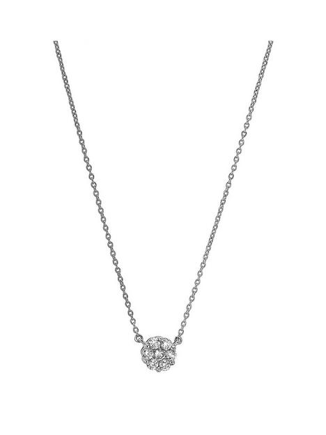 created-brilliance-yvette-created-brilliance-9ct-white-gold-025ct-lab-grown-diamond-cluster-necklace
