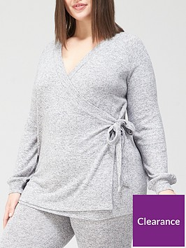 v-by-very-curve-soft-touch-wrap-jumper-grey