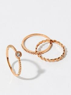 accessorize-3x-vine-ring-set--nbsp-rose-gold