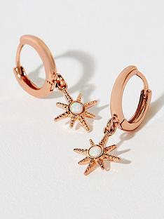accessorize-z-rose-gold-starburstnbspearrings-gold
