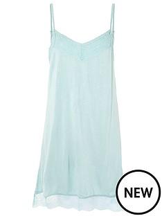 accessorize-lace-trim-slip-dress-green