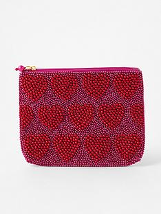 accessorize-harrie-heart-beaded-pouch-red