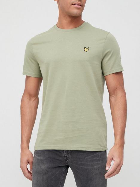 lyle-scott-plain-t-shirt-moss
