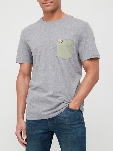 lyle-scott-ringer-pocket-t-shirt-grey-marl