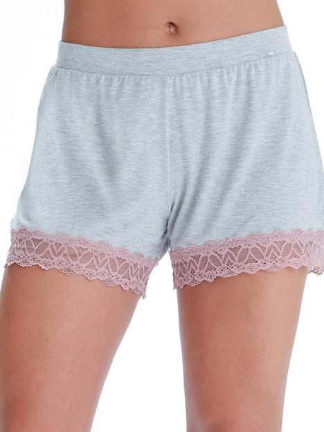 pretty-polly-lave-trim-shorts-pinkgrey