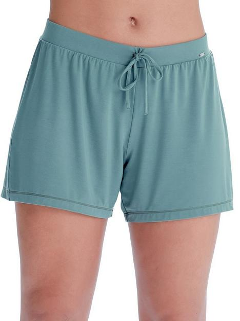 pretty-polly-botanical-lace-shorts-sage