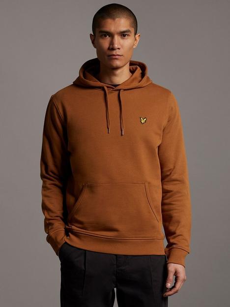 lyle-scott-hoodie-brown