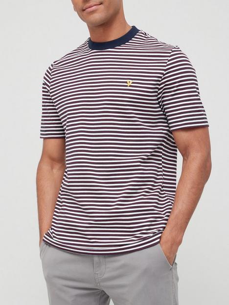 lyle-scott-archive-stripe-t-shirt-navy