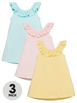 mini-v-by-very-girlsnbsp3-pack-broderie-ruffle-dressesnbsp--multi
