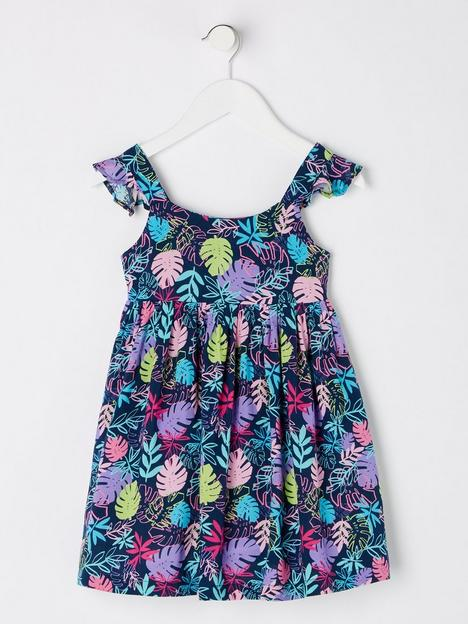 mini-v-by-very-girlsnbsphibiscus-frill-shoulder-all-over-print-dress-multi