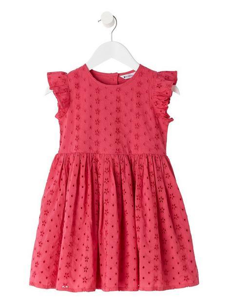 mini-v-by-very-girlsnbspfuschianbspbroderie-dress-pink