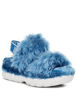 ugg-fluff-sugar-sustainable-sandalsnbsp-nbspblue