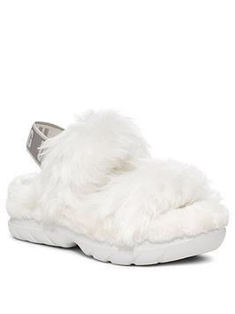 ugg-fluff-sugar-sustainable-sandalsnbsp-nbspwhite