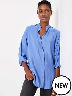 mint-velvet-mint-velvet-blue-oversized-longline-shirt