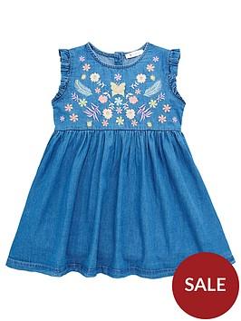 mini-v-by-very-embroiderednbspyoke-denim-dress-blue