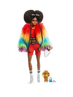 barbie-extra-doll-rainbow-coat
