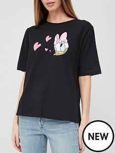 v-by-very-daffy-duck-graphic-t-shirt-black