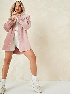 missguided-missguided-splice-cord-shirt-pinknbsp