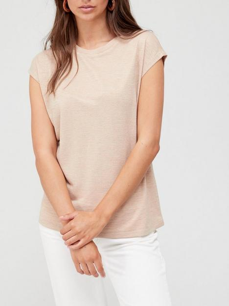 v-by-very-grown-on-sleeve-textured-t-shirt-oatmeal