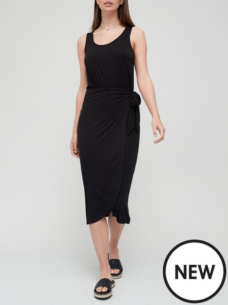 v-by-very-wrap-over-midi-dress-black