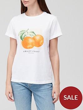 v-by-very-front-print-amalfi-coastnbspslogan-roll-sleeve-tee-white