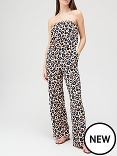 v-by-very-bandeau-jumpsuit-animal-print