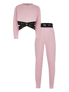 river-island-girls-ri-branded-sweat-and-legging-set--nbsppink