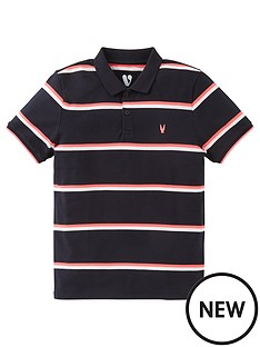 v-by-very-boys-neon-stripe-polo-multi