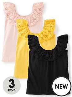 v-by-very-3-pack-broderie-sleeve-tops-multi