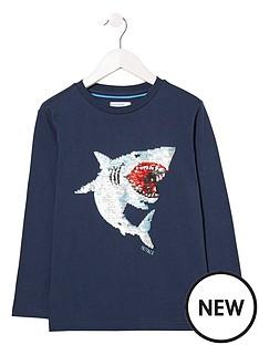 fatface-boys-long-sleeve-sequin-shark-graphic-tshirt-navy