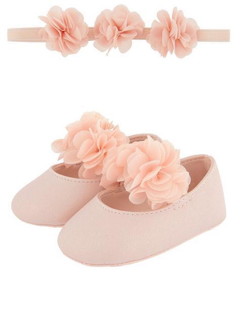 monsoon-baby-girls-macaroon-bando-and-bootie-set-pink