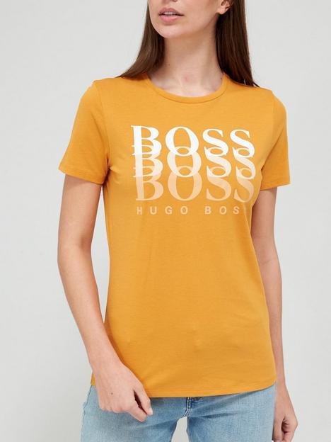 boss-eloga-logo-t-shirt-orange