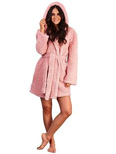 loungeable-hooded-robe-pink