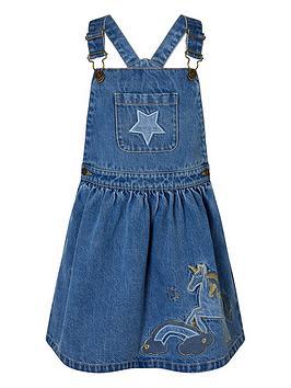 monsoon-girls-denim-unicorn-pinny-dress-blue