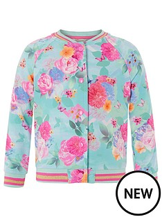 monsoon-girls-floral-print-bomber-jacket-turquoise