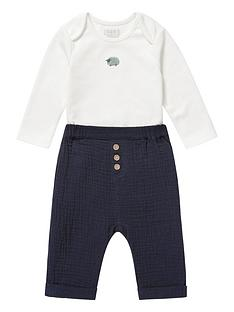 mamas-papas-baby-boys-wrap-bodysuit-and-trousers-set-blue
