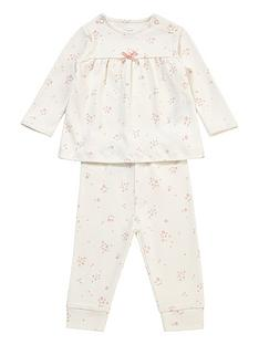 mamas-papas-baby-girls-rose-bud-jersey-pyjamas-white
