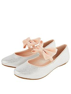 monsoon-girls-samira-bow-ballerina-silver
