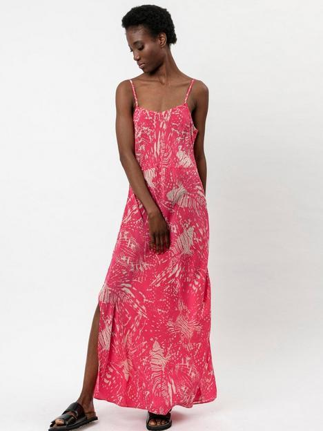 religion-printed-slip-dress-pink