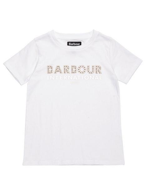 barbour-international-girls-driftnbspfoil-print-t-shirt-white