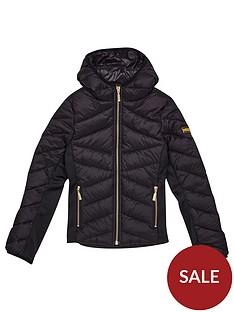 barbour-international-girls-grid-quilt-jacket-black