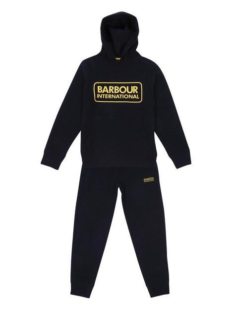 barbour-international-boys-essential-tracksuit-black