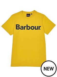 barbour-boys-logo-t-shirt-yellow