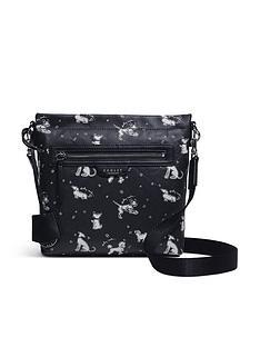 radley-maple-cross-fun-pups-small-zip-top-crossbody-bag-black