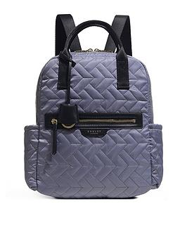 radley-finsbury-park-quilted-medium-zip-top-backpack-fossil