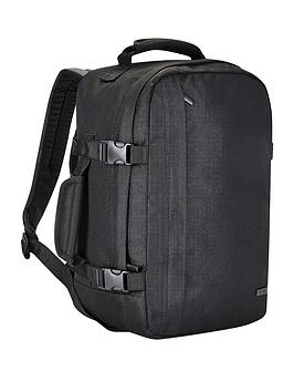 rock-luggage-small-cabin-backpack-black