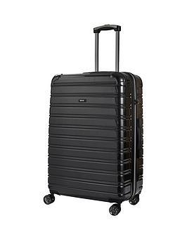 rock-luggage-chicago-large-8-wheel-suitcase-black