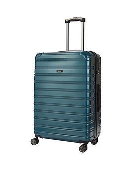 rock-luggage-chicago-large-8-wheel-suitcase-green